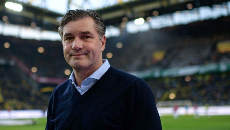 Спортният директор на Борусия подкрепи треньора