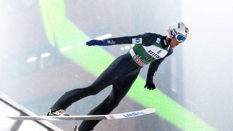 Даниел Танде записа втора поредна победа за сезона в Световната купа по ски-скок
