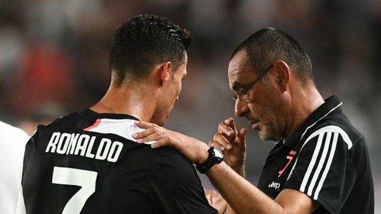 Сари: Роналдо не е като другите футболисти