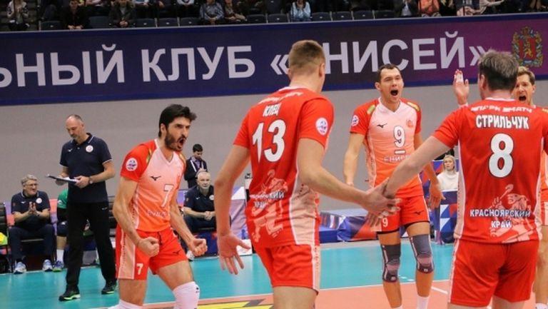Тодор Скримов с 10 точки, Енисей с трета победа в Русия