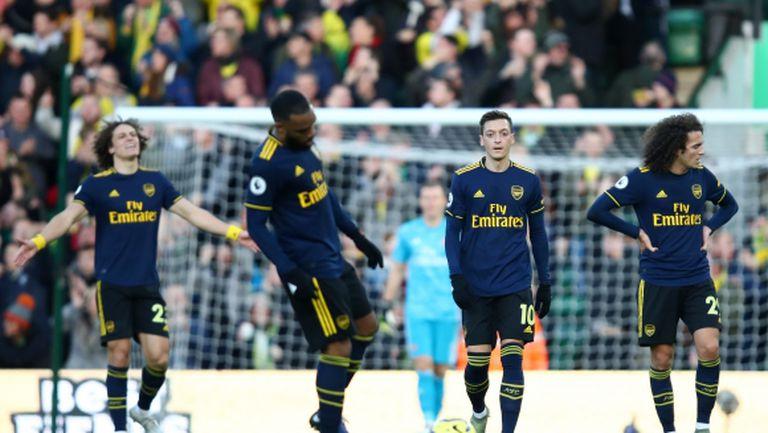 Люнгберг изведе Арсенал до точка в дебюта си (видео)