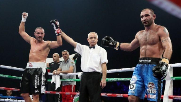"""Боксьор, който """"взриви"""" софийската """"Арена Армеец"""", ще подгрява Руис - Джошуа (видео)"""
