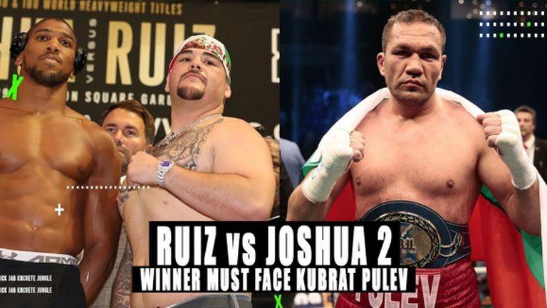 Кубрат Пулев коментира шансовете на Джошуа и Руис за реванша