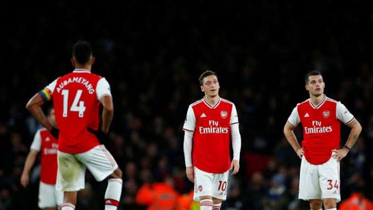 Арсенал е в най-лошата си серия от 42 години