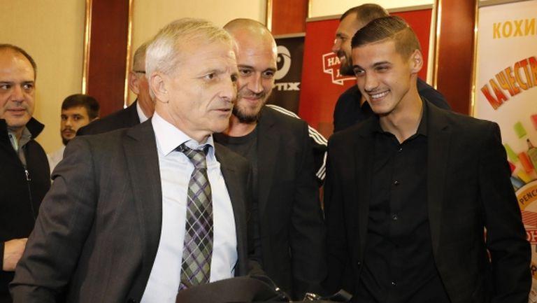 ЦСКА-София поздрави Гриша Ганчев