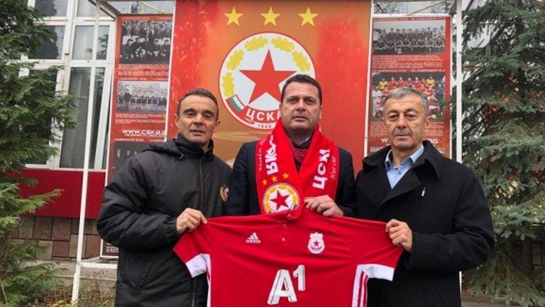 Ченчев спази обещанието си и дари 15 000 лева на ЦСКА-София