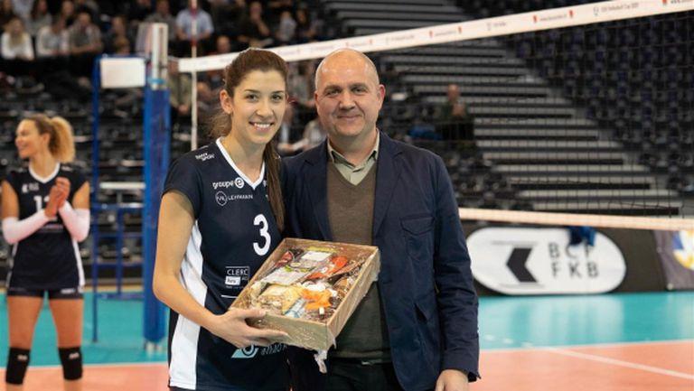 Ралина Дошкова MVP, Симона Димитрова и Дюдинген с победа за Купата на CEV
