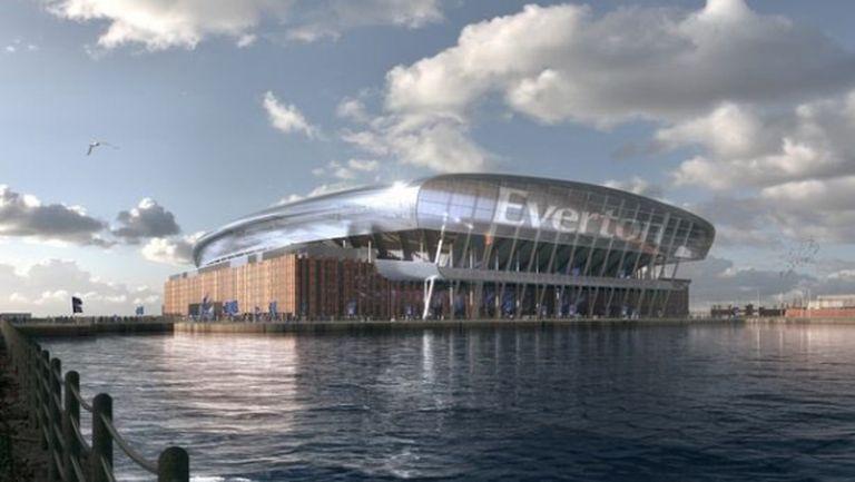 Евертън представя проект за нов клубен стадион