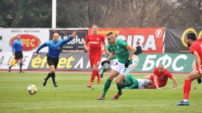Берое не остави шанс на Царско село, Мартин Камбуров с нов гол в efbet Лига (видео)
