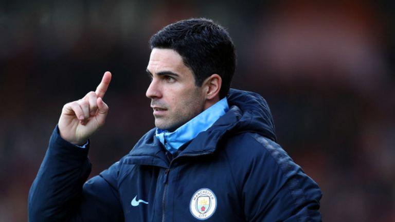 Арсенал започна преговори със Сити за Артета