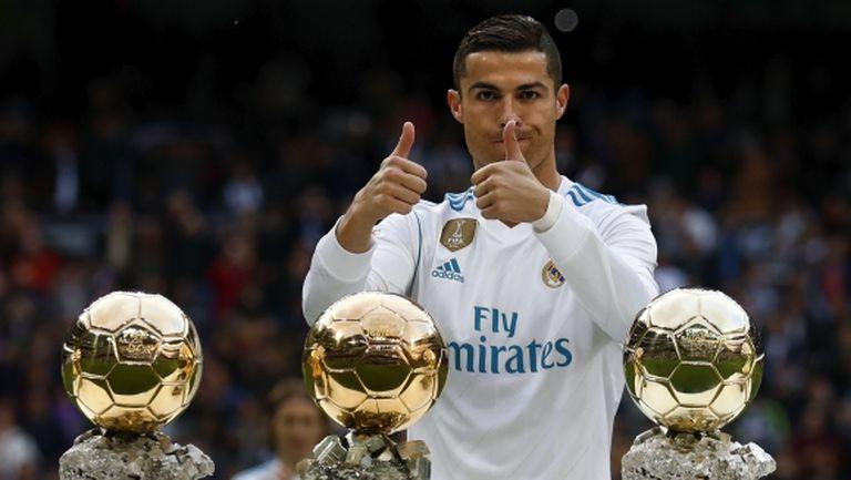 """Жорже Мендеш: Ако Кристиано играеше в Реал Мадрид, щеше да спечели """"Златната топка"""""""