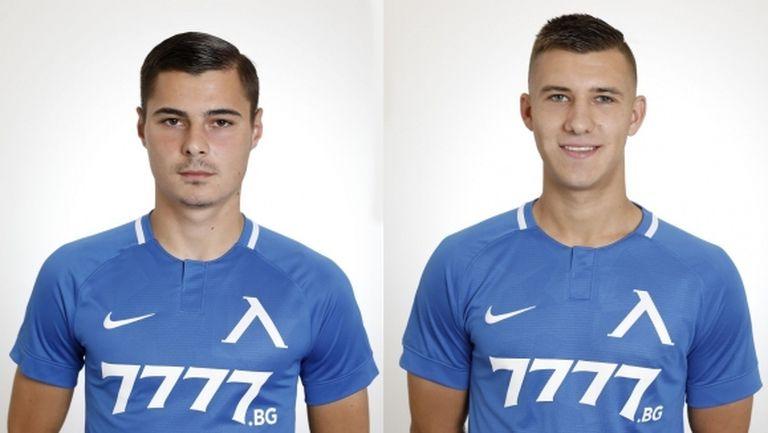 Младежки национали на България подписаха нови договори с Левски