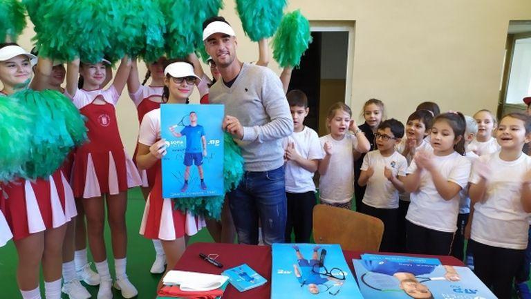 В Плевен организираха шампионско изпращане на Димитър Кузманов за ATP Cup
