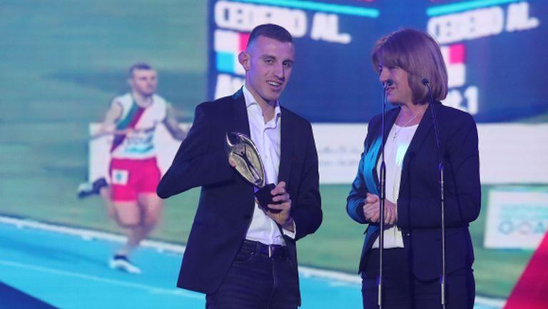 Лекоатлетът Християн Стоянов е Спортист на годината с увреждания