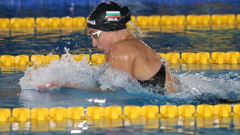 Диана Петкова с поредна поправка на национален рекорд