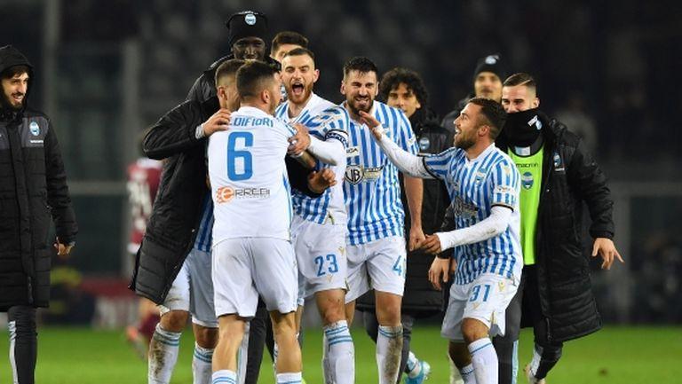 СПАЛ обърна Торино и се отлепи от дъното (видео)