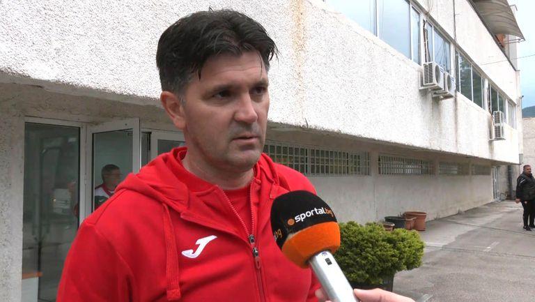 Ангел Стойков: Този отбор има още накъде да расте