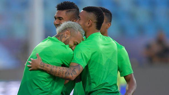 Звездите на Бразилия готови за срещата с Чили