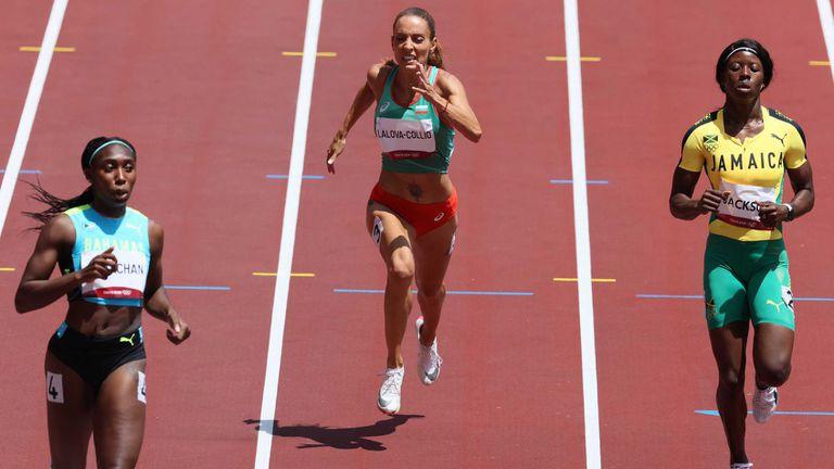 Ивет Лалова не успя да премине сериите на 200 метра