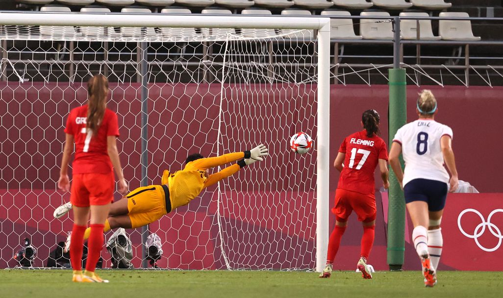 САЩ - Канада 0:1, жени