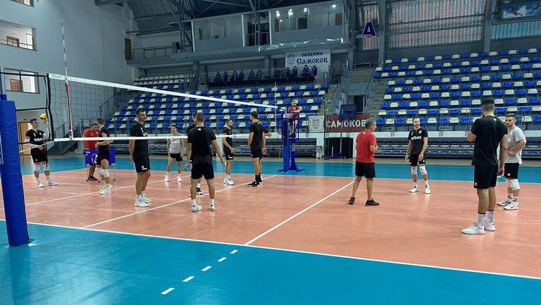 Волейболистите започнаха подготовка в Самоков🏐