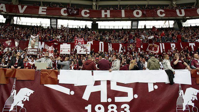 Тифозите на Торино надъхаха отбора за дербито