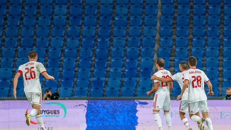 Втори гол на Тиаго срещу Базел