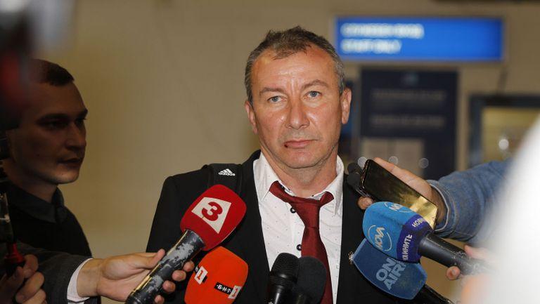 Стамен Белчев: Летвата е вдигната високо и във всеки един мач трябва да се доказваме