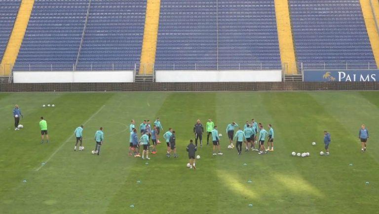 Отборът на Левски проведе тренировка преди мача с Ботев (Враца)