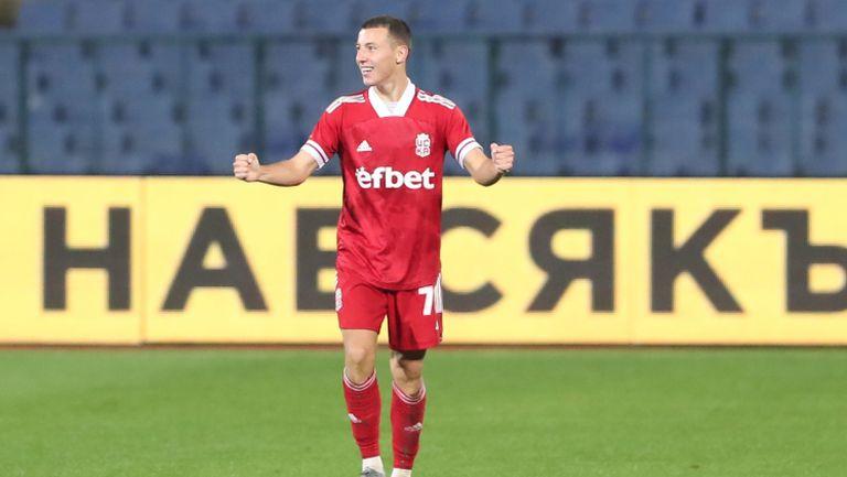 Георги Русев покачи резултата на 3:0 срещу Ботев (Пд)