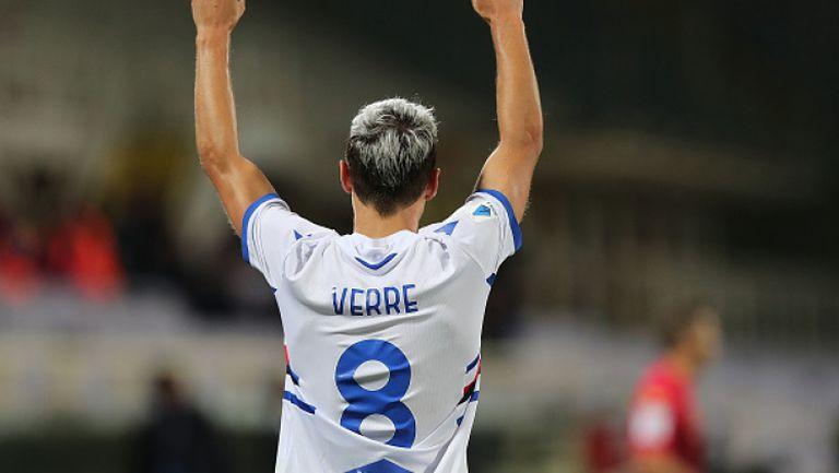Сампдория с първа победа през сезона