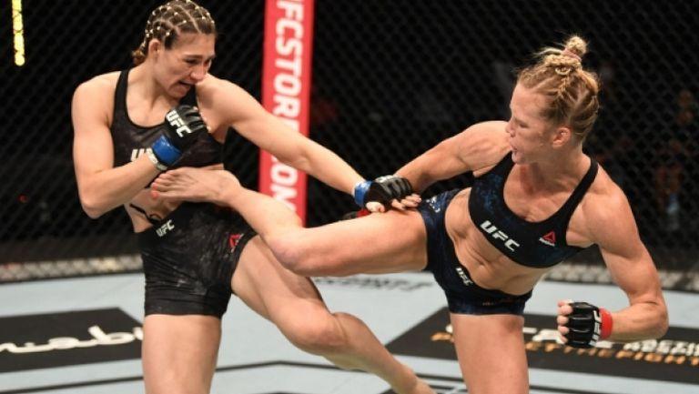 Холи Холм с поредна доминация в UFC