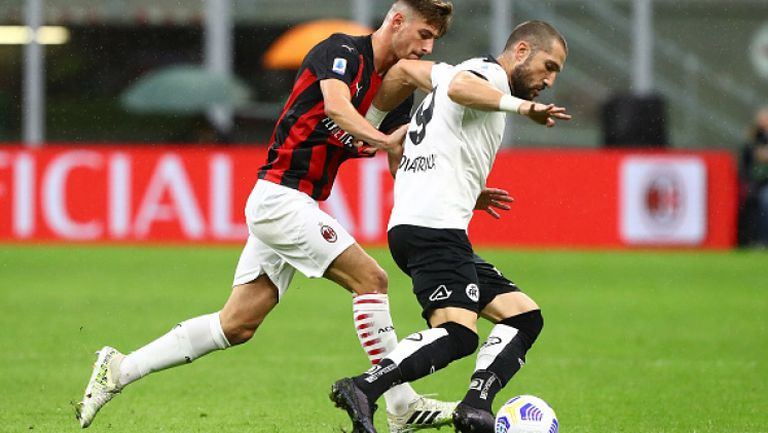 Гълъбинов с контузия при загубата на Специя от Милан