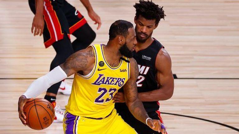 Лейкърс е само на победа от титлата в НБА