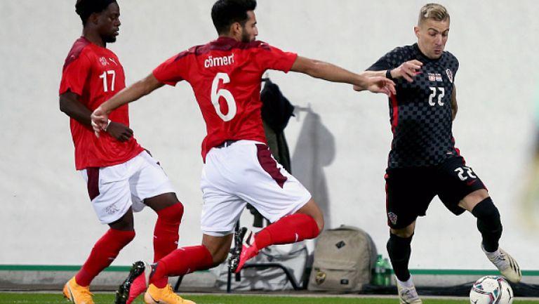Швейцария - Хърватия 1:2