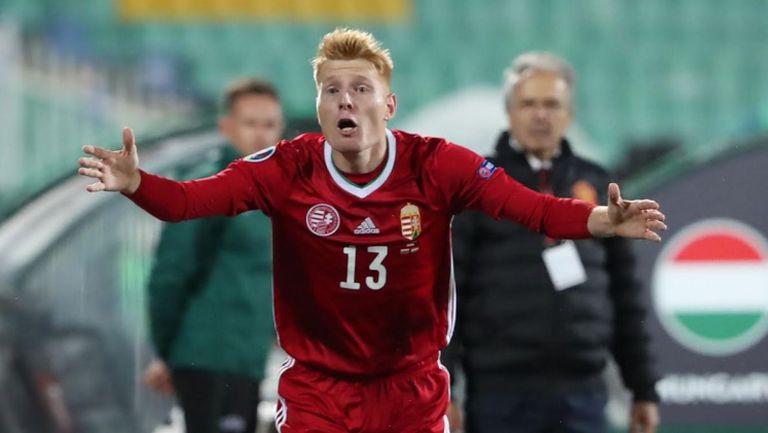 Калмар направи резултата 2:0 за Унгария след щастлив рикошет