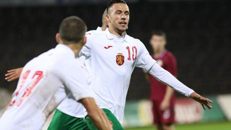 Станислав Иванов даде аванс на България срещу Латвия