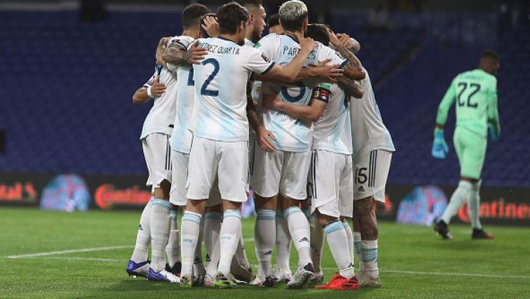 Аржентина - Еквадор 1:0
