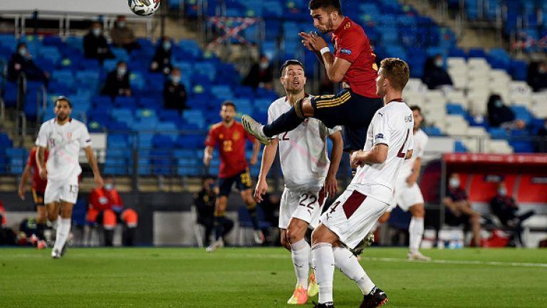 Испания - Швейцария 1:0