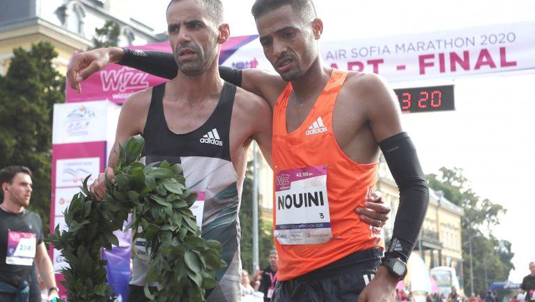 Мароканци и украинка счупиха рекордите на Софийския маратон