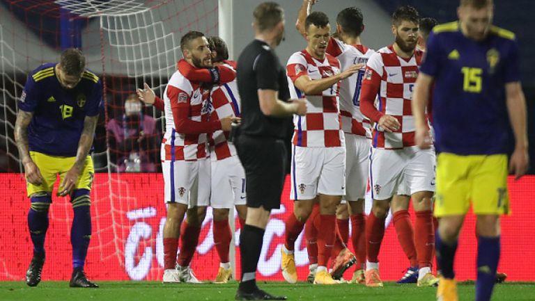 Хърватия - Швеция 2:1