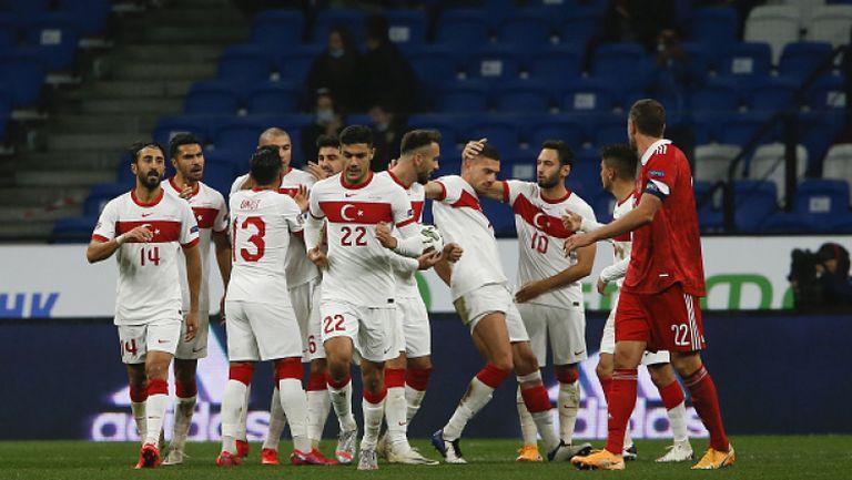 Русия - Турция 1:1