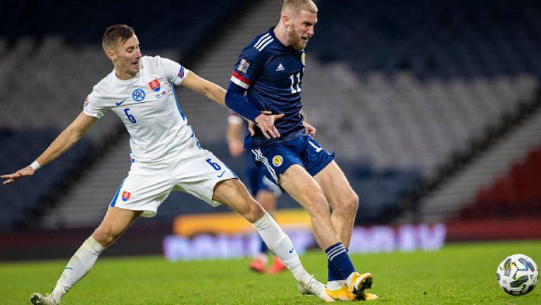 Шотландия - Словакия 1:0