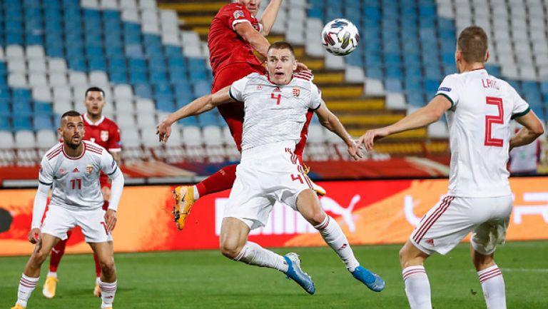 Сърбия - Унгария 0:1