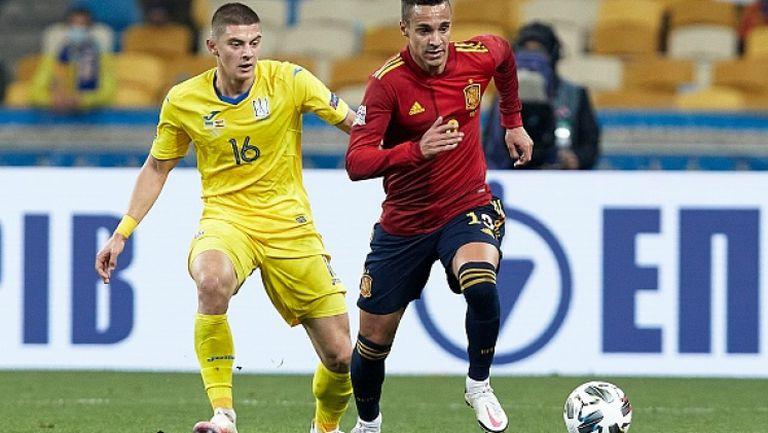 Украйна - Испания 1:0