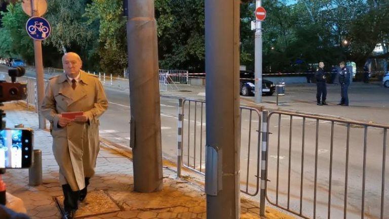 Михаил Касабов пристигна на Националния стадион за България - Уелс