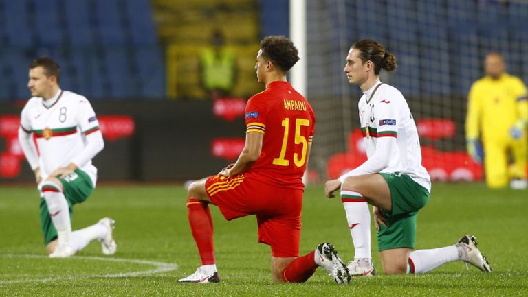 България и Уелс подкрепиха борбата  с расизма