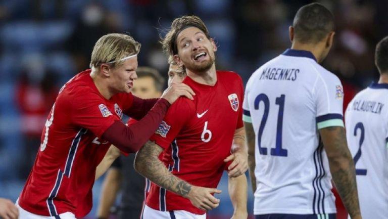 Норвегия - Северна Ирландия 1:0
