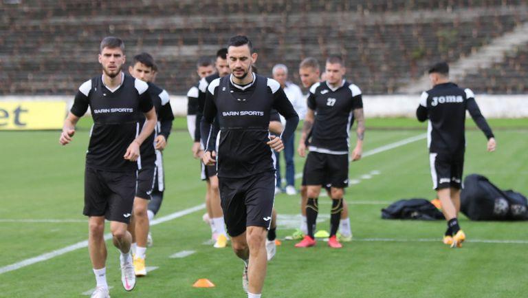 Открита тренировка на Славия преди най-старото столично дерби с Левски