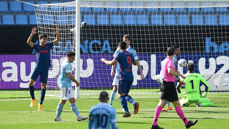 Селта - Атлетико Мадрид 0:2